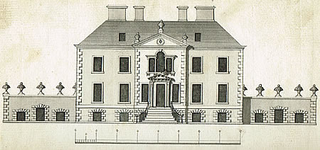 Original plan of Torwoodlee House